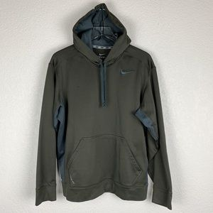 Men's Nike Therma Fit Embroidered Pullover Hoodie